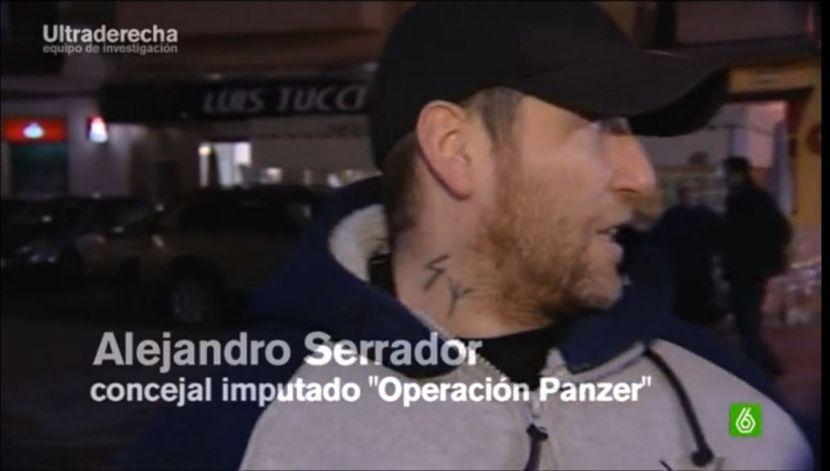 Alejandro Serrador E2000 concejal Silla imputado Operación Panzer 2