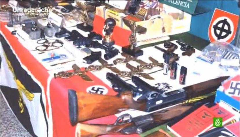 Silla E2000 Armas de fuego